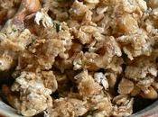 Verrine carottes badiane granola chèvre