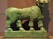 Deux lions Yemen antique