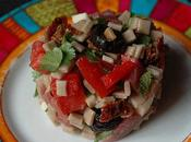 Salade crozets saveurs Sud, menthe coriandre
