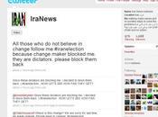 Iran, révolution 2.0: Twitter