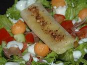 Salade composée croustillant cocagne