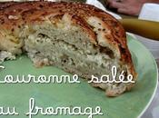 couronne salée fromage