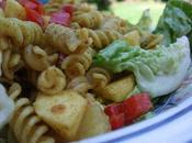 salades tortis curry