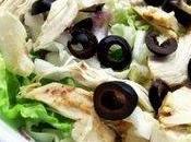 Salade chou chinois poulet