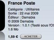 France Poste tarifs suivi envois