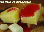 Cake chocolat blanc noix Macadamia