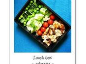 Petite idée lunch estivale poulet citron légumes verts croquant
