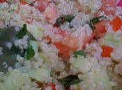 Faux Taboulé Quinoa Brochettes Kefta