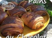 Croissants pains chocolat
