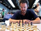 Championnat d'échecs Paris Alberto David seul leader