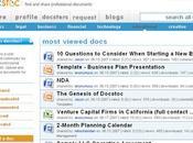 docstoc, Scribd document professionnel
