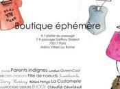 Boutique éphémère avec Lulu paris Juillet Paris,17