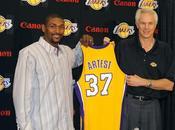 Conference presse d'introduction Artest