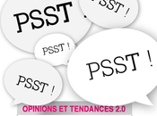 Lancement PSST (opinions, tendances innovations 2.0) plateforme d'échange interprofessionnelle favorise interconnexions libres entre professionnels marketing, communication, médias, création, design