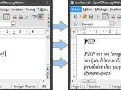 1.0, pour OpenOffice