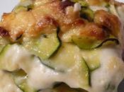Lasagnes courgette poulet marine