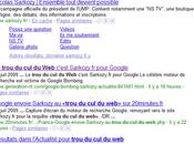 Google bombing prsidentiel