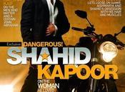 Shahid Kapoor couverture magazine Filmfare.