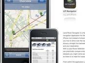 Land Rover surf succès Apps l'iphone