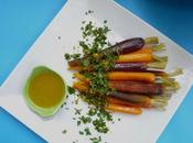 Carottes cremolata, salade carottes cuites