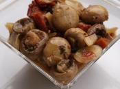 Champignons grecque basilic, fenouil tomates séchées