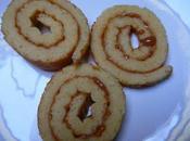 Biscuit roulé confiture lait