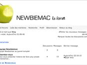 forums Newbiemac ouvrent leurs portes