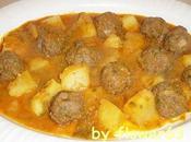 Boulettes viande hachée pommes terre