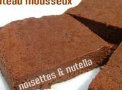 Gâteau léger mousseux nutella (sans beurre)