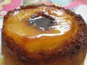 Petits Gâteaux Renversés Pêches Caramélisées