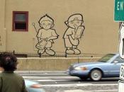 Graffitis, guerilla marketing