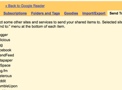 Comment utiliser Google Reader comme outil bookmarking social bloc-notes