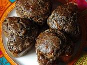 Muffins antillais boudin noir, pomme noix...