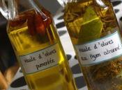 Faire huile d'olive parfumée