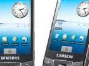 Galaxy Samsung avec Android brille sous cieux