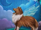 Illustration Jeunesse Fairy Sheltie