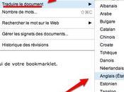 Google Documents: traduisez documents depuis l'application Document
