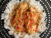 Curry vert dinde