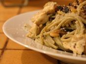 Pâtes poulet ricotta parmesan
