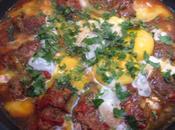 Tajine kefta oeufs sauce tomate