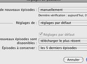 Comment planifier téléchargements podcasts iTunes.