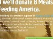 mise jour caritative chez Microsoft