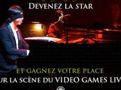 Devenez star Video Games Live