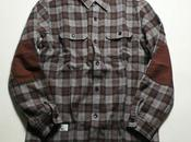 Head porter plus check shirt