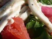 Salade raie pamplemousse piment d'Espelette