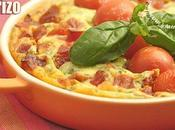 Petits plats chèvre frais, basilic, tomates chorizo