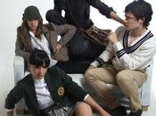 """lycéens de""""Physique Chimie"""" jouent carte glamour"""