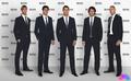 chemise Hugo Boss pour donner classe footballeur