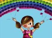 Angie arc-en-ciel fleurit Bouille