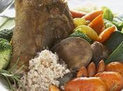 Souris d'agneau épicée, abricots, amandes romarin